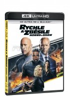 Rychle a zběsile: Hobbs a Shaw 2Blu-ray (UHD+BD)
