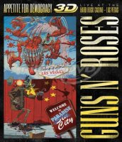Guns N' Roses: Appetite For Democracy - Live At The Hard Rock Casino 3D Blu-ray