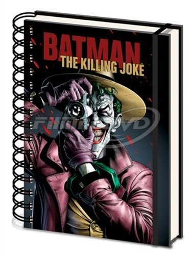 Zápisník Batman - The Killing Joke Cover