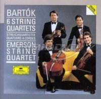 Emerson String Quartet: Bartók - 6 String Quartets Emerson String (2CD)