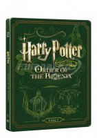 Harry Potter a Fénixův řád (Blu-ray+DVD bonus) SteelBook
