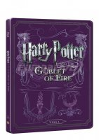 Harry Potter a ohnivý pohár (Blu-ray+DVD bonus) SteelBook