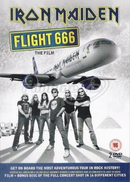 Iron Maiden: Flight 666 The Film