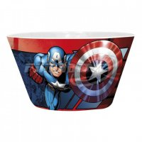 Miska Iron Man vs Captain America 460ml