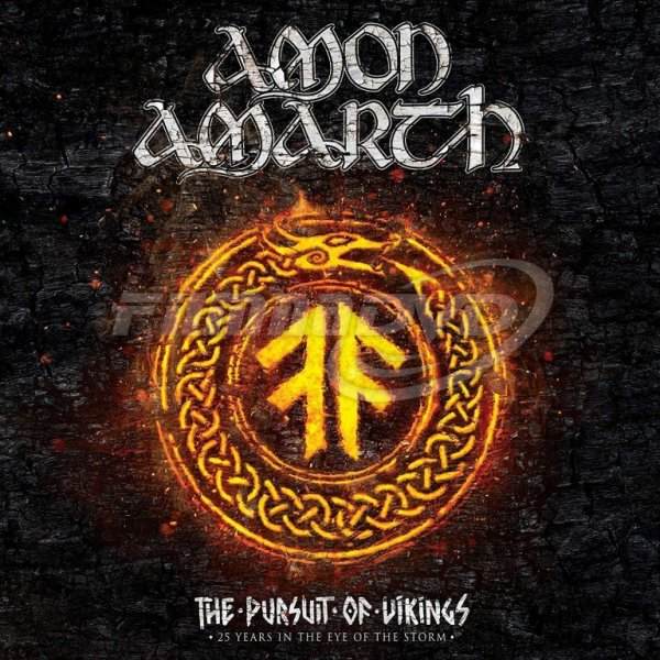 Amon Amarth: Pursuit Of Vikings: 25 Years In The Eye Of The Storm (CD+Blu-ray)