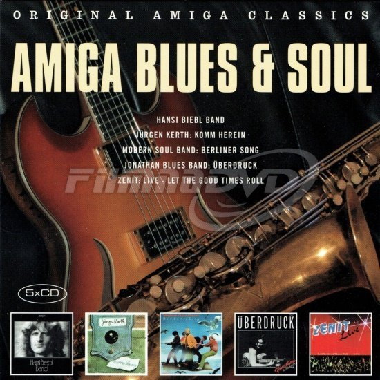 Various: Amiga Blues & Soul (5CD)
