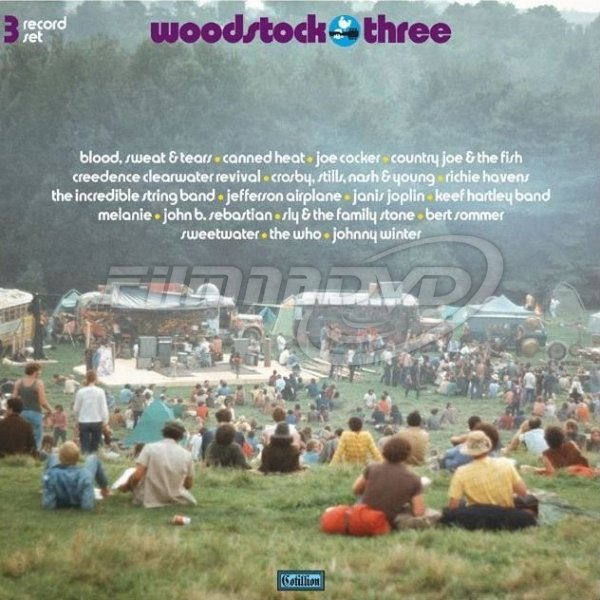 Various: Woodstock III (Summer Of 69 Campaign) 3LP