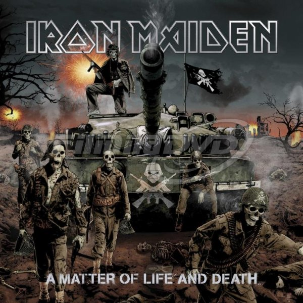 Iron Maiden: Matter Of Life And Death (2LP)