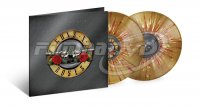 Guns N' Roses: Greatest Hits (Limited Edition, Gold with Red & White Splatter Vinyl) 2LP