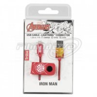 Lightning kabel Iron Man 120 cm
