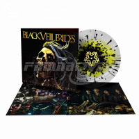 Black Veil Brides: Re-Stitch These Wounds (Ultra Clear White / Neon Yellow & Black Vinyl) LP